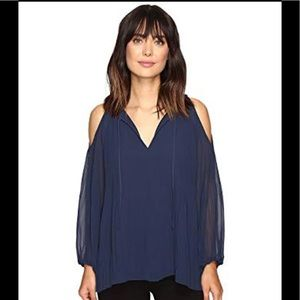 NEW Sanctuary Sophia Cold Shoulder Blouse